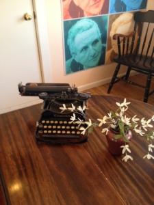 Gertrude typewriter